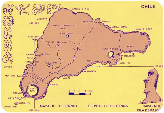 Resultado de imagen de aerea isla de pascua plano
