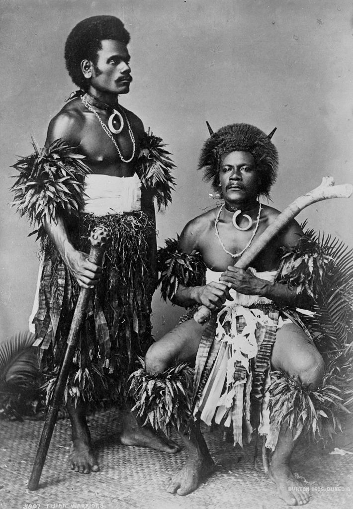 710px-Two_Fijian_warriors,_photograph_by_Burton_Brothers,_1884